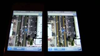 iPhone 4S v iPhone 4 GNSS (GPS+GLONASS) Comparison