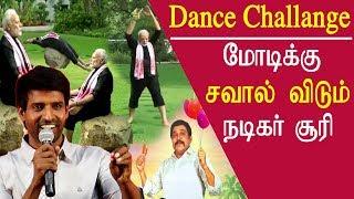 Soori comedy soori dance challenge to modi Maniyar kudumbam audio launch