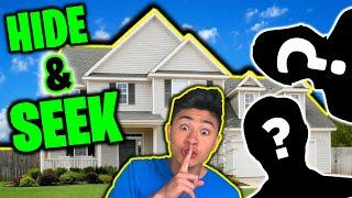 HIDE and SEEK in STRANGERS HOUSE!