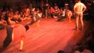 longest bboy move flare FINALE  IBE 2008