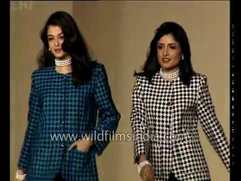 Young Aishwarya Rai during her modelling days