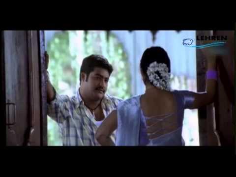 Ankitha seducing Jr.Ntr | Simhadri | Telugu Movie scene