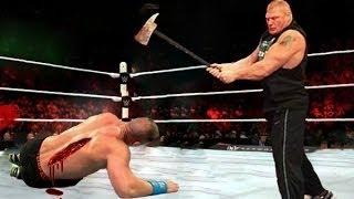 Nov-06-2016: WWE Roman Reigns vs Wyatt Family OMG 4 vs 1 What a Killing Full Match 2016