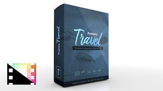 ProIntro Travel - Introductory Title for Final Cut Pro X - Pixel Film Studios