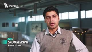 Indian pilot chooses BAA Training for A320 type rating