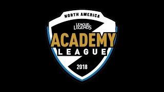 CGA vs. FOXA   Week 8   NA Academy Summer Split   Clutch Gaming Academy vs. Echo Fox Academy