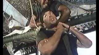 Strike Commando 2 (estrangulación)