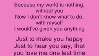 1St Lady - Missing You + Lyrics
