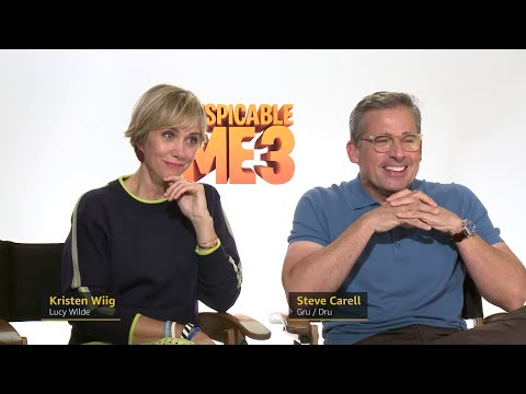 Despicable Me 3 s Kristen Wiig and Steve Carell s Tips for Raising Kids IMDb EXCLUSIVE