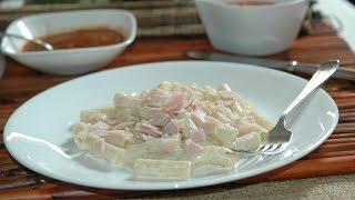Macarrones con queso sin horno - Receta de Cocina al Natural
