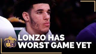 Luke Walton, Lakers React To Lonzo Ball's Struggles