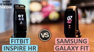 New Galaxy Fit vs Fitbit Inspire HR (Same Price, VERY Different) - TESTED and Reviewed