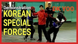 Systema Demonstartion on Korean Special Forces