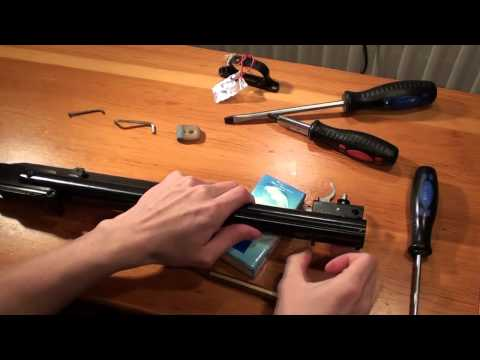 Break Barrel Air Rifle Maintenance Part 1