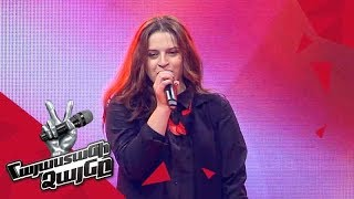 Marusya Khachatryan sings 'Rag'n'Bone Man' - Blind Auditions - The Voice of Armenia - Season 4