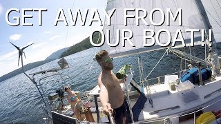 The Wildlife is Attacking our Sailboat! - Walde Sailing ep.44 (Vancouver Island)