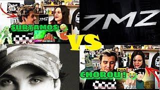 Rap do Rock lee l TAUZ VS 7MINUTOZ 2X1 (REACT)