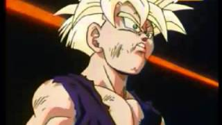 gohan vs cell linkin park in the end