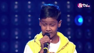 Chetan Bharanga - Blind Audition - Episode 2 - July 24, 2016 - The Voice India Kids