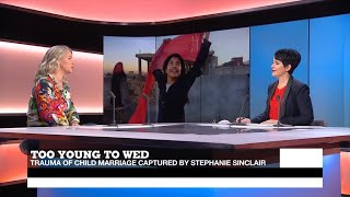 Too young to wed: U.S. photojournalist captures trauma of child marriage