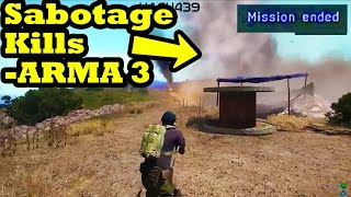 Ammo Truck Mission Sabotage - ARMA 3