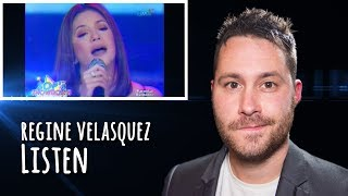 Regine Velasquez SOP Presents The Asia's Songbird sings 'Listen' | REACTION