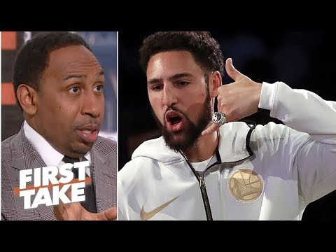 Klay Thompson is key to LeBron's quest for a Lakers championship – Stephen A. First Take