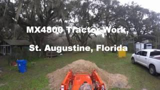 MX4800 Tractor Work, St  Augustine, Florida