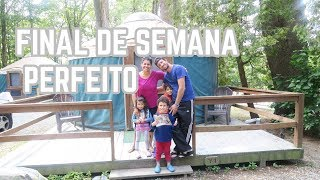 FINAL DE SEMANA MARAVILHOSO. TOUR PELO ACAMPAMRNTO_ Nubia Viana