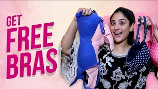 How to Get free bra's or lingerie  + giveaway || shystyles
