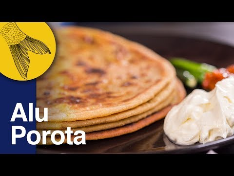 Xxx Mp4 Aloo Paratha Recipe Dhaba Style Punjabi Aloo Paratha Potato Stuffed Indian Flatbread 3gp Sex