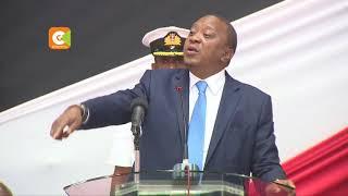 Uhuru freezes all new state projects