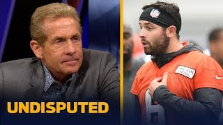 Baker Mayfield is 'wrong' for not owning his Daniel Jones comments — Skip Bayless   NFL   UNDISPUTED