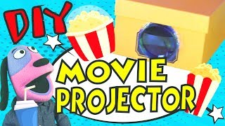 Crafts for Kids | How to make a SHOE BOX WALL PROJECTOR