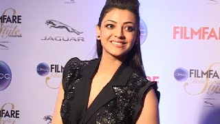 Kajal Agarwal gorgeous at Filmfare Glamour and Style Awards 2015.