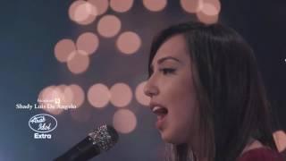نادين خطيب تختتم مسيرتها في Arab Idol بأغنية قديش كان في ناس لارزة لبنان فيروز