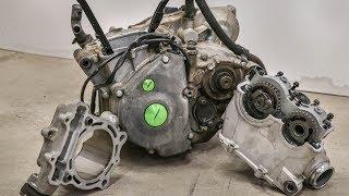 Destroyed KX250F Engine!!