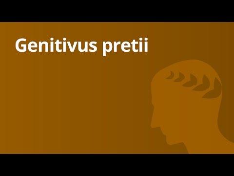 Kasusfunktion- Der genitivus pretii | Latein | Grammatik