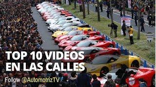 TOP 10 Videos de Autos en las Calles