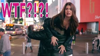 Tourists vs. REAL New Yorkers | King Bach , Max Goodrich & Amanda Cerny