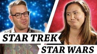 Star Trek Vs. Star Wars • Debatable