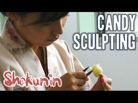 Shokunin   Japanese Candy Sculpting 職人シリーズ・飴細工 (日本)