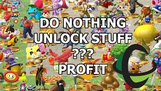 UNLOCK CUSTOM MOVES, TROPHIES, AND MORE BY DOING NOTHING! - Smash Wii U