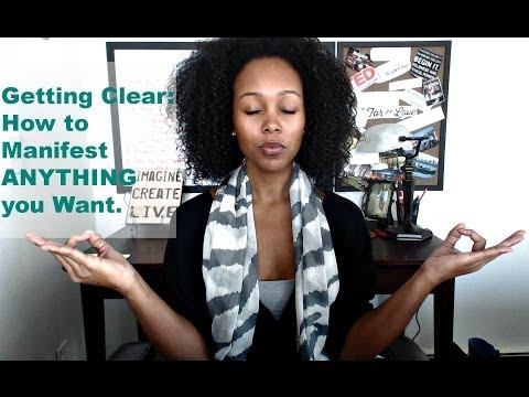Getting Clear |  How to Manifest ANYTHING you Want & the Importance of Word Choice.