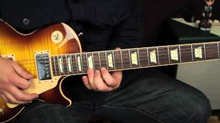 Blues Guitar Lessons - Soloing with Major and Minor Pentatonic Scale - Rock Blues