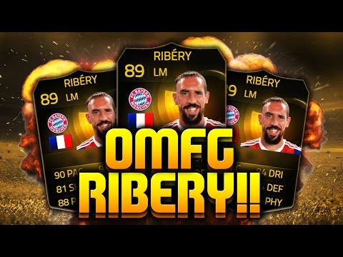 FIFA 15 - YES!!!! IF RIBERY! - FIFA 15 ULTIMATE TEAM