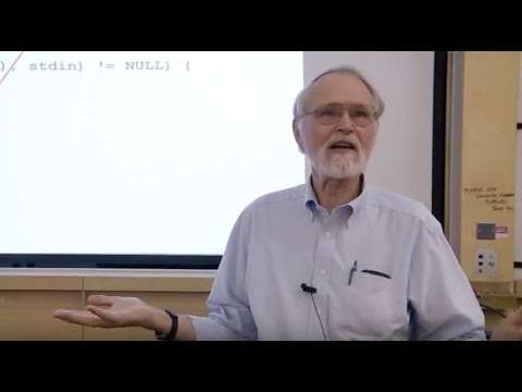 Computer Science - Brian Kernighan on successful language design