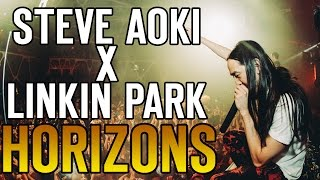 Steve Aoki ft. Linkin Park - Darker Than Blood / Horizons (Live from Chicago Feb 28, 2015)