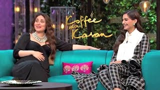 Kareena Kapoor And Sonam Kapoor On Koffee With Karan Season 5