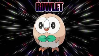 ROWLET AND CHESPIN FUSION! CHESLET!!